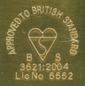 british standard label