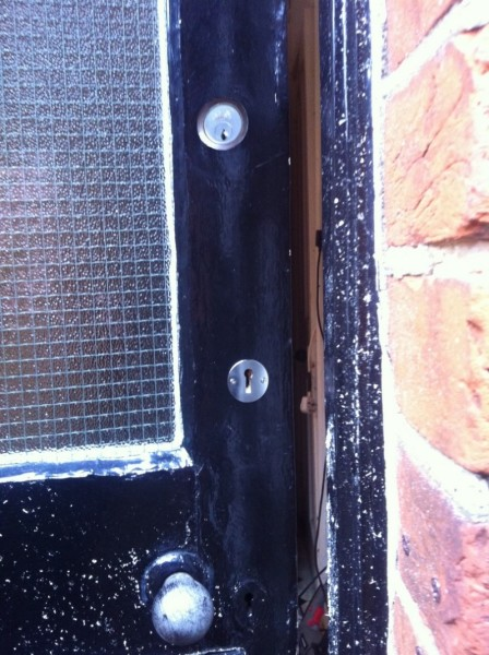 5 Lever BS mortice lock fitted after burglary 1