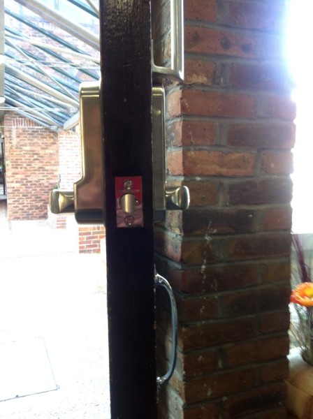 Digital Lock Replaced at care home 3