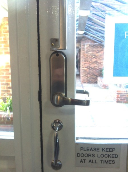 Digital Lock Replaced at care home 2